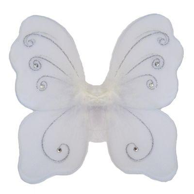 Weiße Engelsflügel