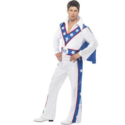 Evel Knievel-Kostüm für Herren