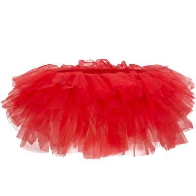Rotes Fun-Tütü - Tüllrock für Fasching und Junggesellenabschiede