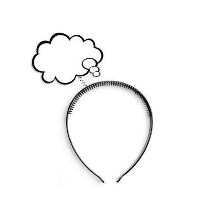 Haarreif mit Denkblase