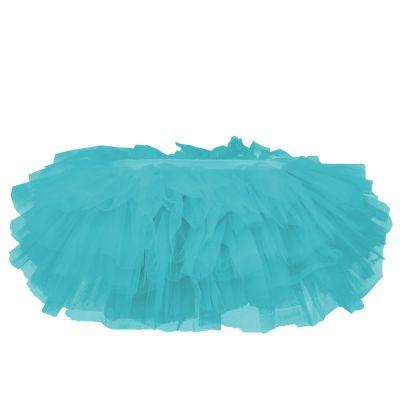 Blaues Mini-Tütü für Fasching und JGA - Tüllrock