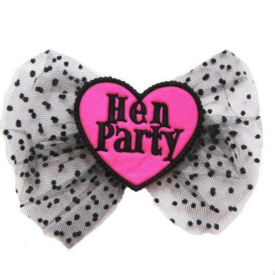 Haarklammer mit der Aufschrift Hen Party