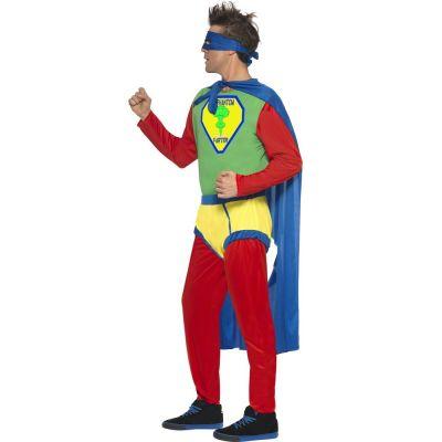 Superhero-Kostüm Phantom Farter - Seitenansicht