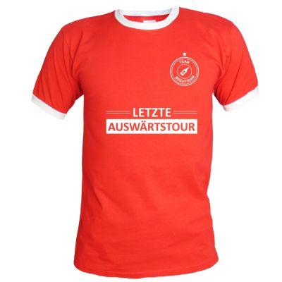 JGA T-Shirt Letzte Auswärtstour - Rot