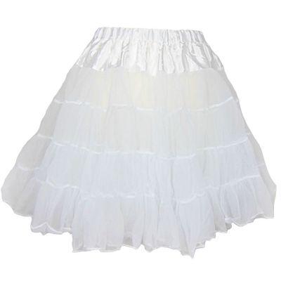 Weißer Petticoat