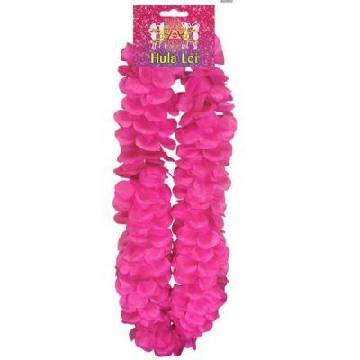 Pinke Blumenkette
