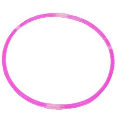 Pinkfarbener Knicklicht-Halsschmuck