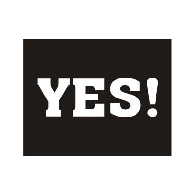 Aufkleber für Hochzeitsschuhe mit Aufschrift Yes