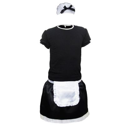 Zimmermädchen-Kostüm für Männer - Herren-Größe