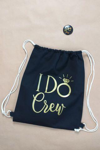 I Do Crew JGA Accessoires im Gold-Design