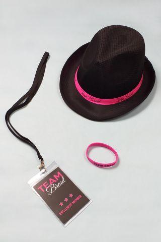 Junggesellenabschied-Accessoires - Frauen - Pink-Schwarz