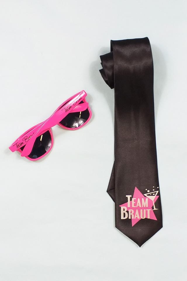 JGA Damen-Accessoires in Pink-Schwarz