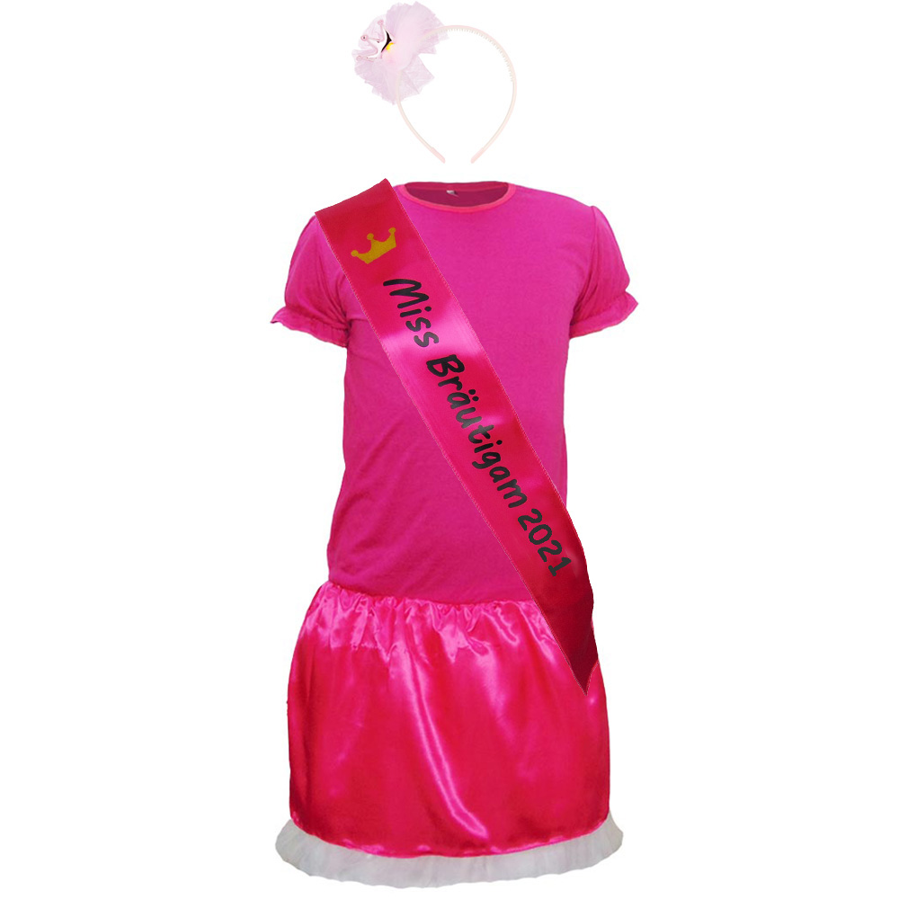 JGA Herren-Kostüm Miss Bräutigam 2020