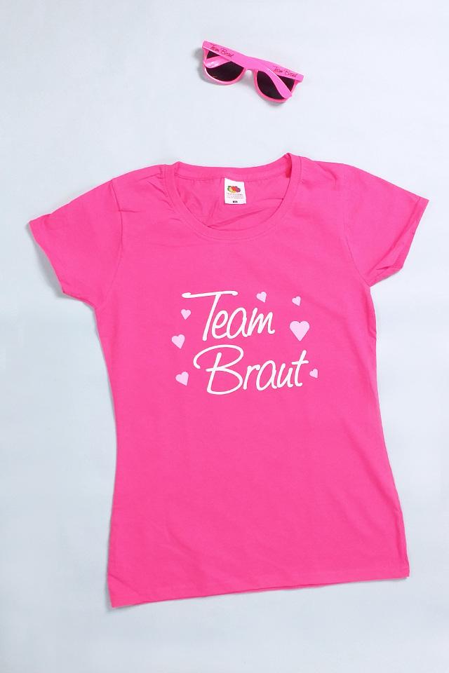 JGA Kleidung Frauen - Pink