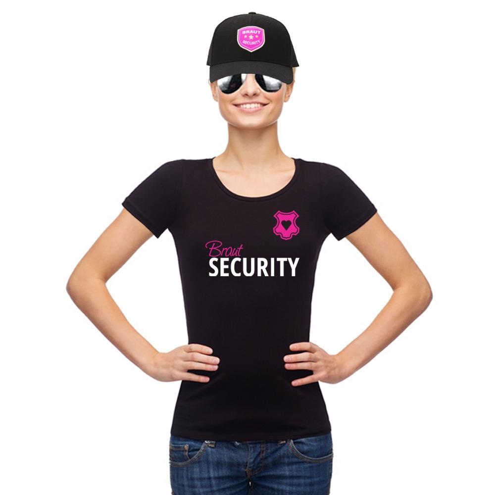 Braut-Security Outfit für den Junggesellinnenabschied