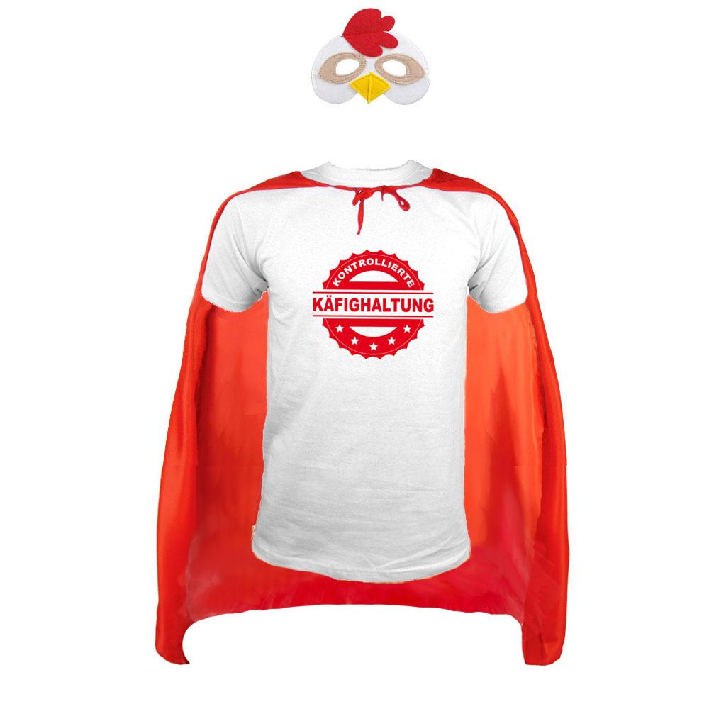 Bräutigam-Kostüm Chicken Man für den Männer JGA