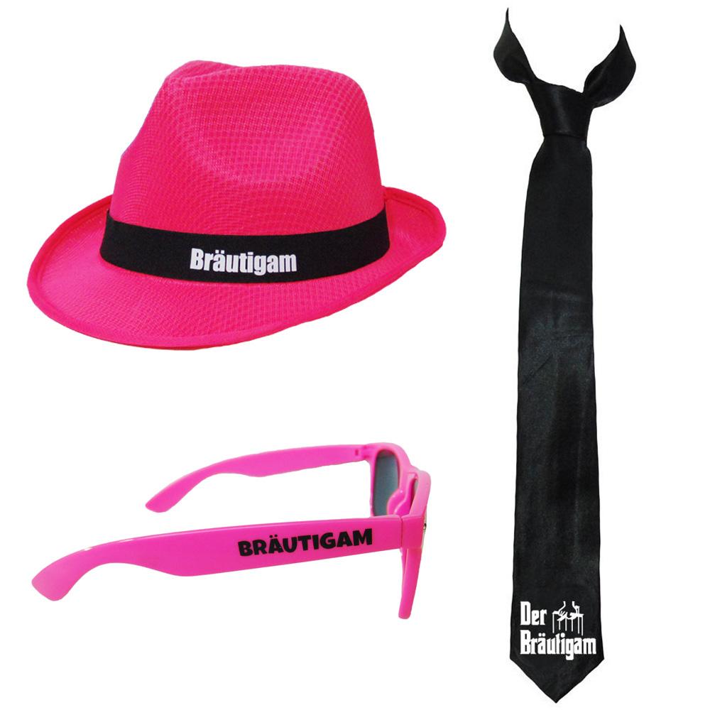 JGA-Kostüm im Gangster-Stil für den Bräutigam