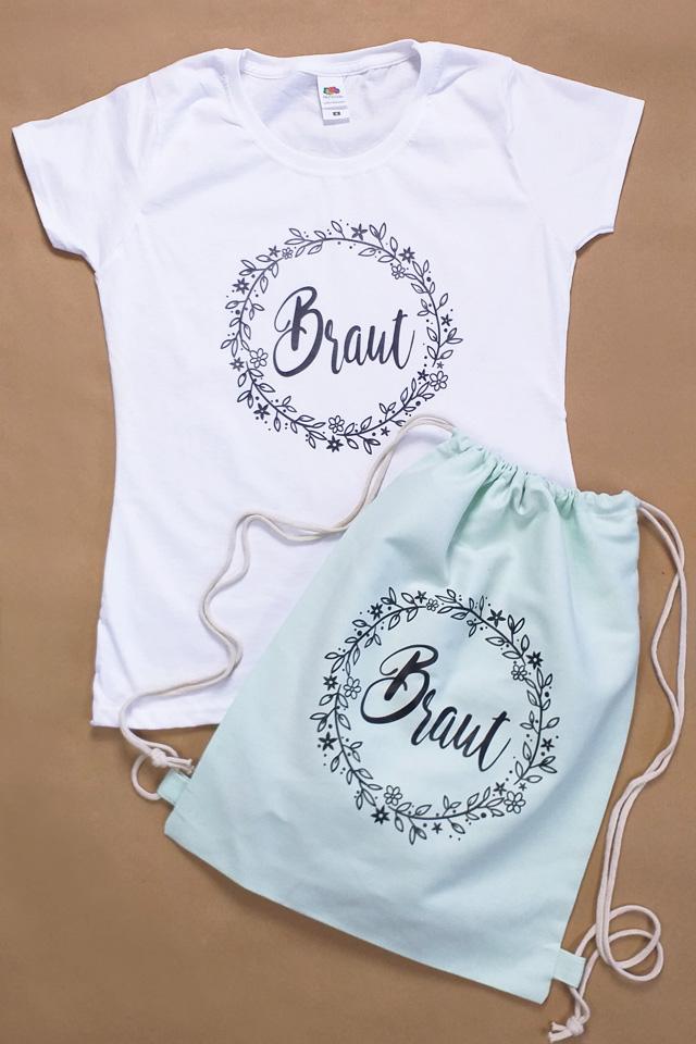 JGA Outfit-Idee im Boho-Stil für die Braut