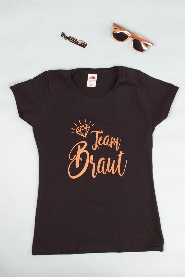 JGA Outfit-Idee für Frauen in Rose-Gold
