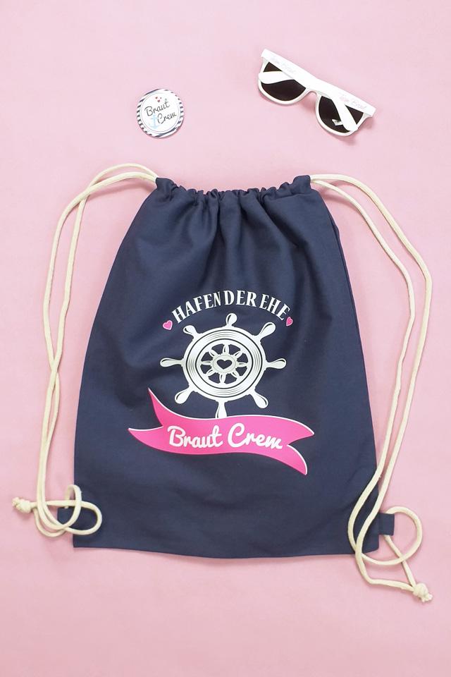 JGA Outfit-Idee - maritim - Braut Crew