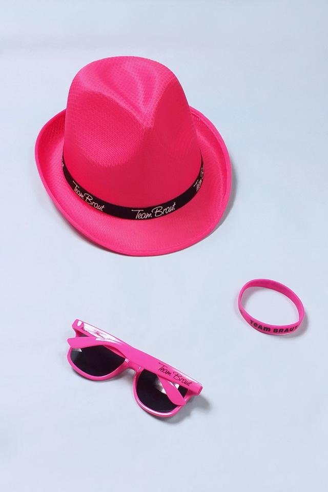 Pinkfarbenes JGA Outfit Set für Damen