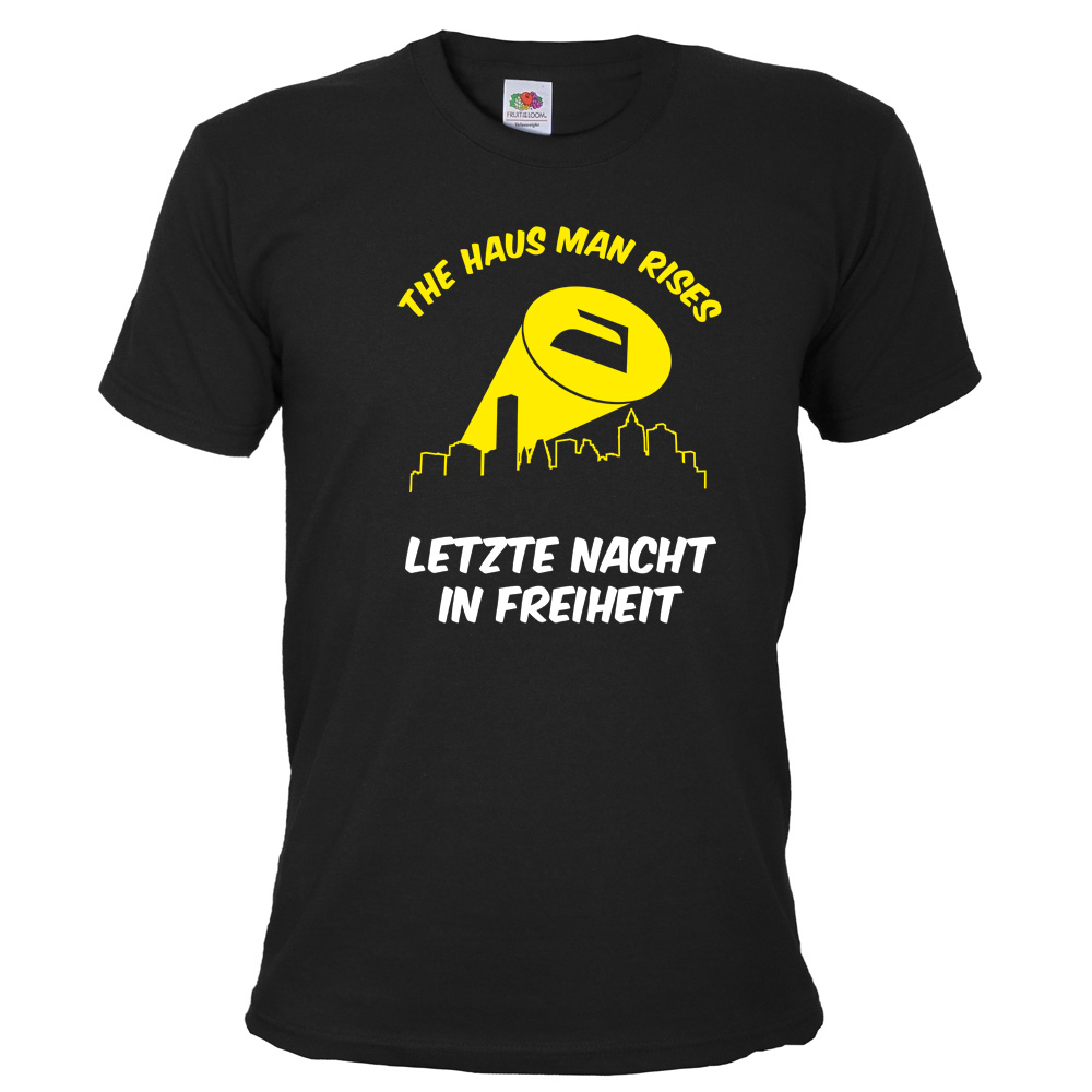JGA T-Shirt The Haus Man Rises - Schwarz