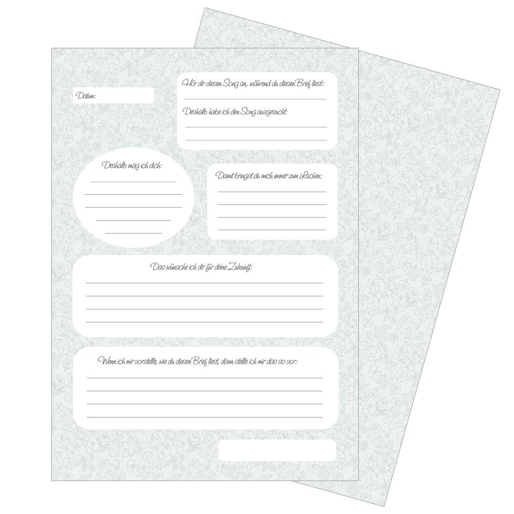 JGA-Geschenk - Briefe an die Braut