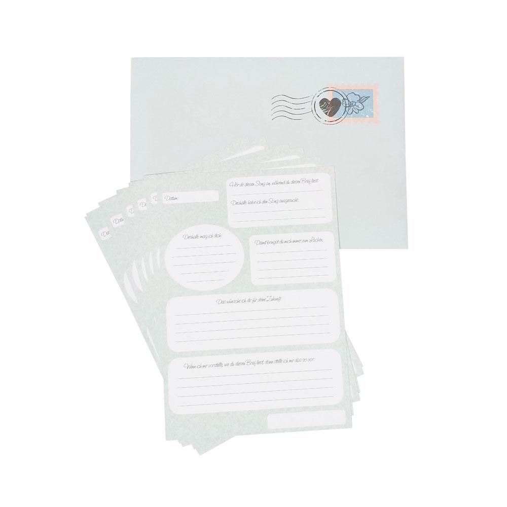 Briefe an die Braut - A5 - JGA-Spiel