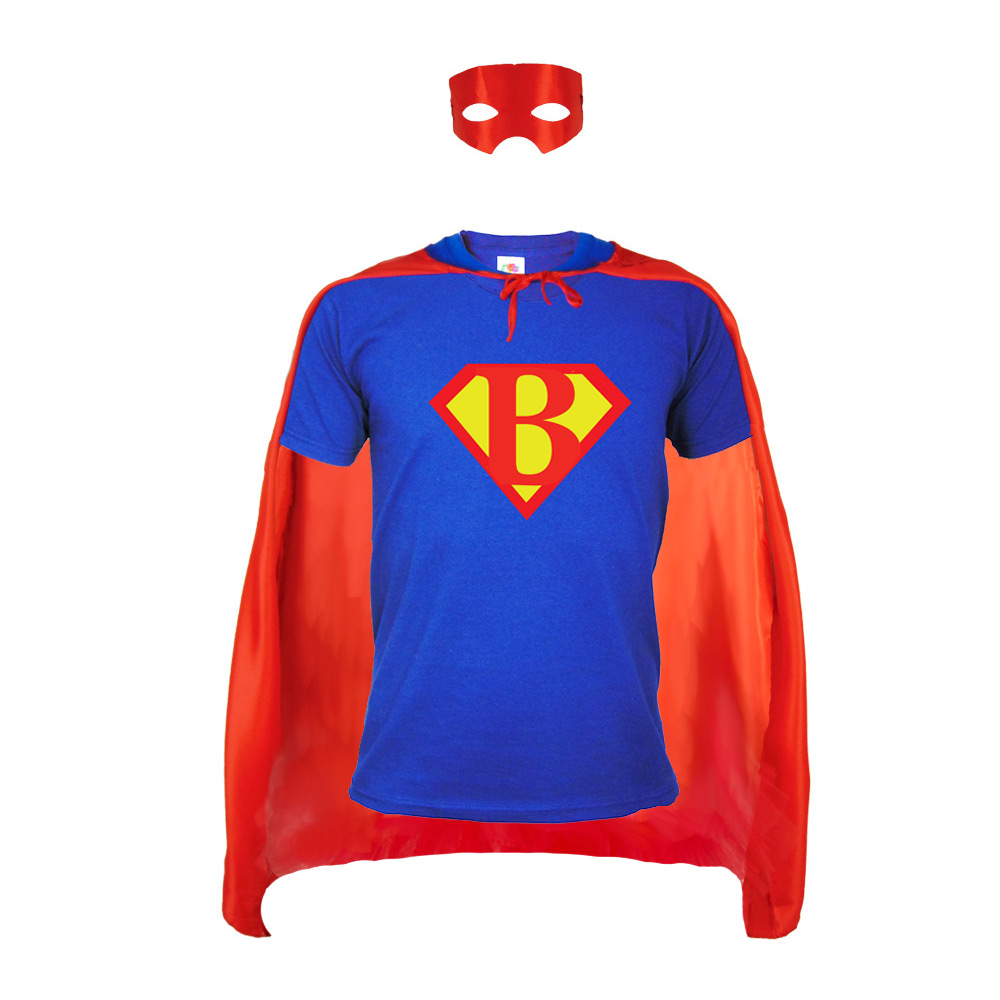 Junggesellenabschied-Kostüm Bräutigam im Superhelden-Stil