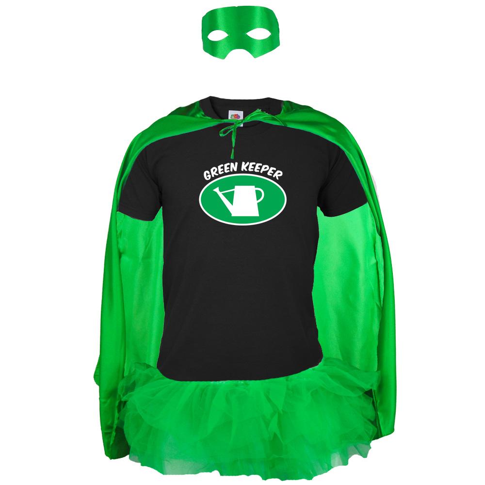 JGA-Superhelden-Kostüm Green Keeper für den Bräutigam