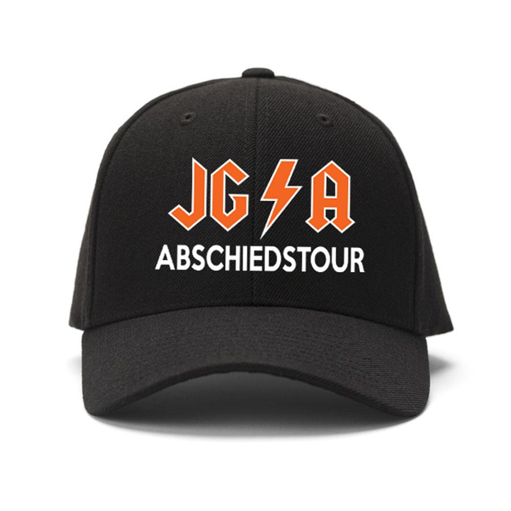 Schwarze JGA Trucker Cap im Hard Rock Design