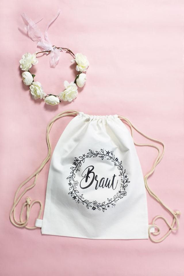 Damen JGA-Utensilien - Braut - Floral