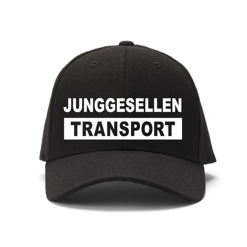 JGA-Zubehör für Männer - Trucker Cap Junggesellen-Transport