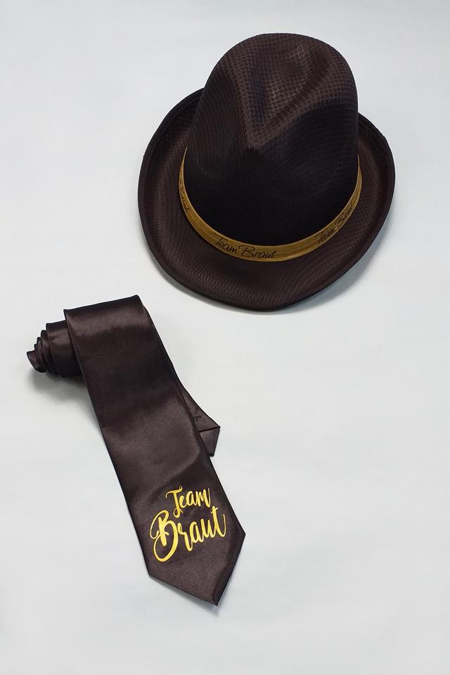 Junggesellenabschied-Accessoires für Damen in Schwarz-Gold