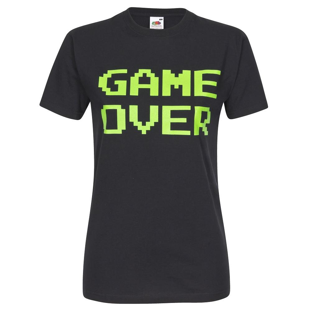 Junggesellenabschied-Shirt mit Game Over Motiv