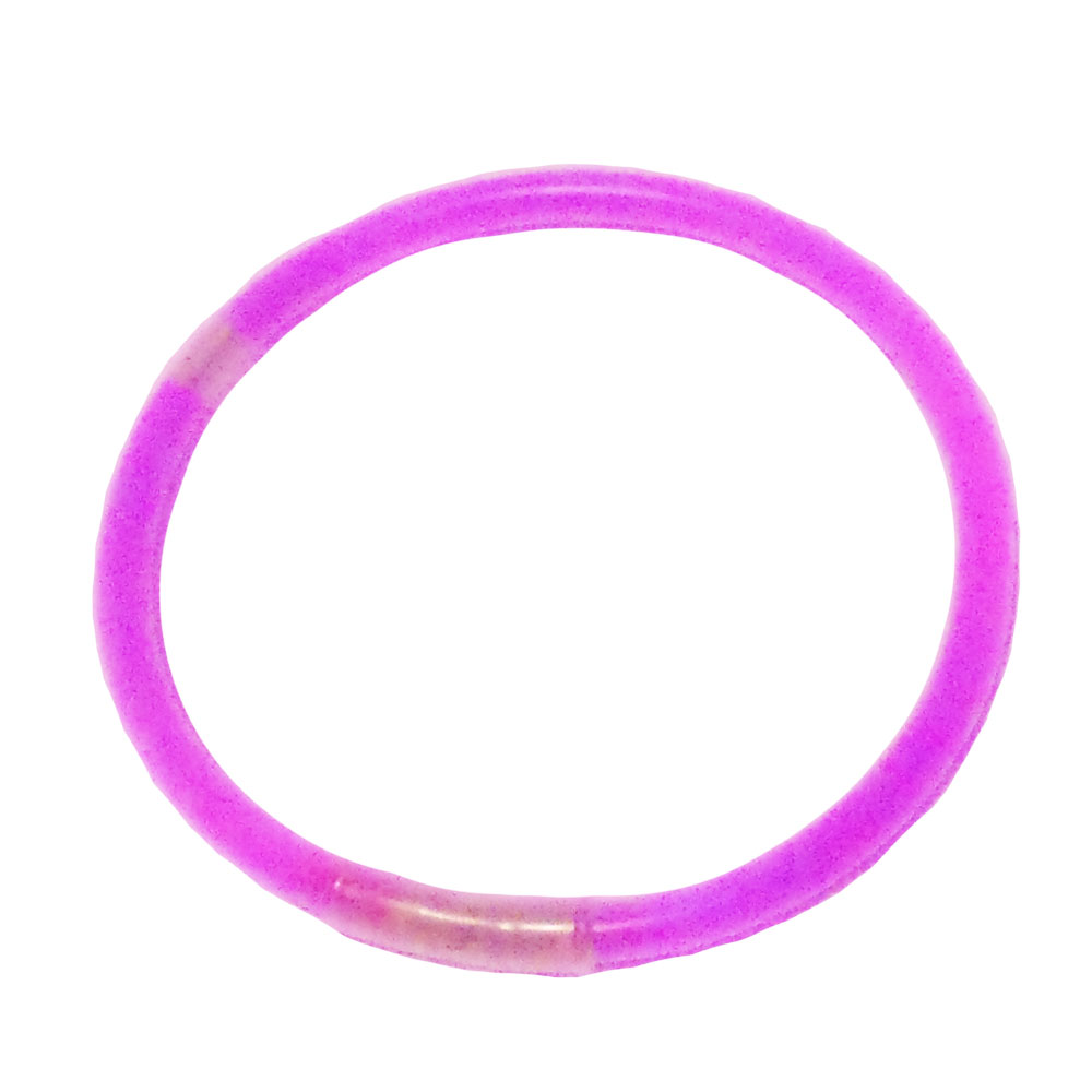 Pinkfarbener Knicklicht-Armreif