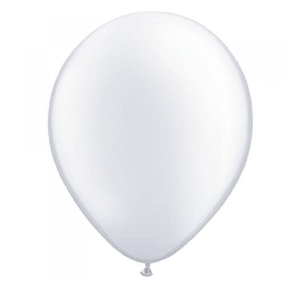 Weißer Luftballon