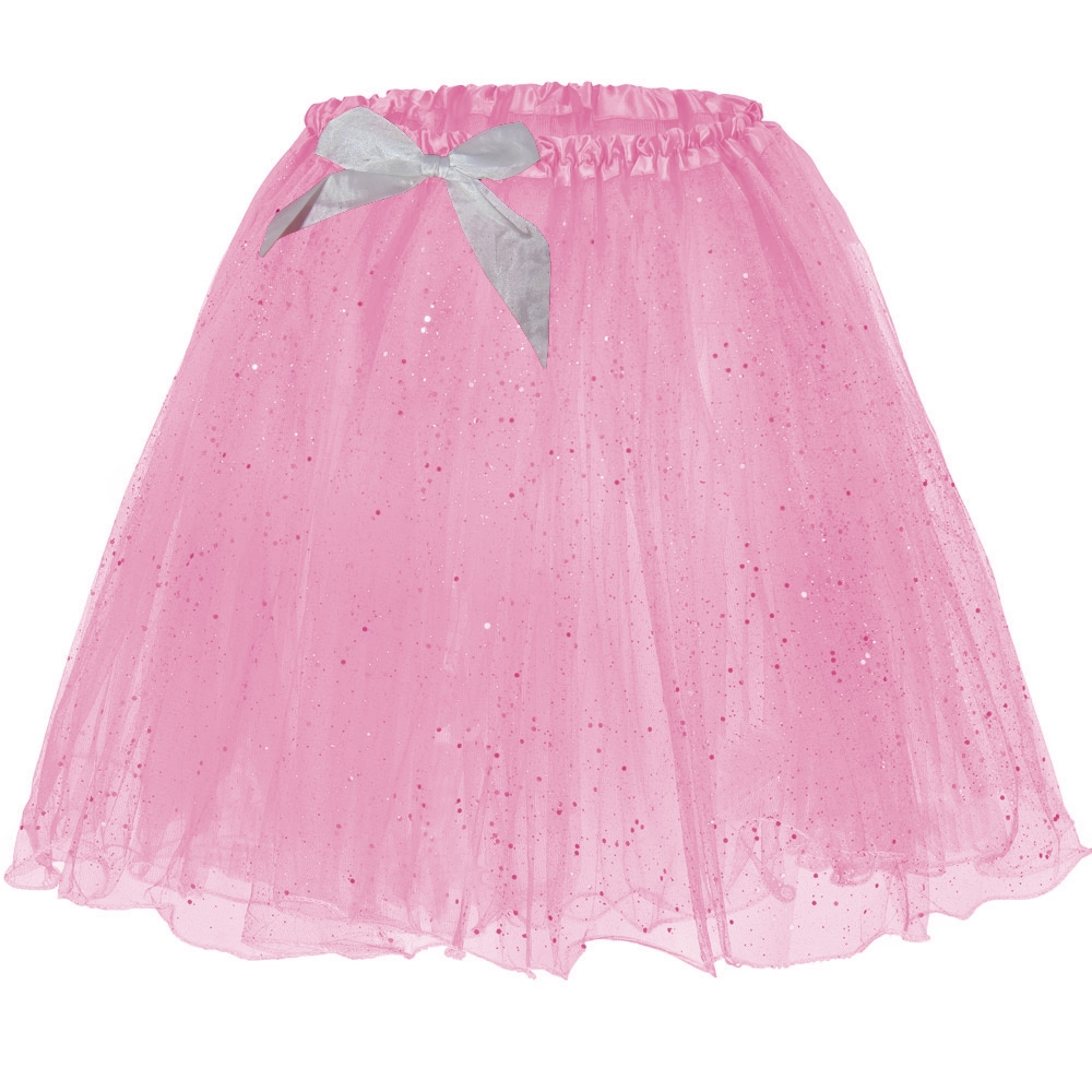 Männer Prinzessin Tütü-Rock - Rosa mit Glitter