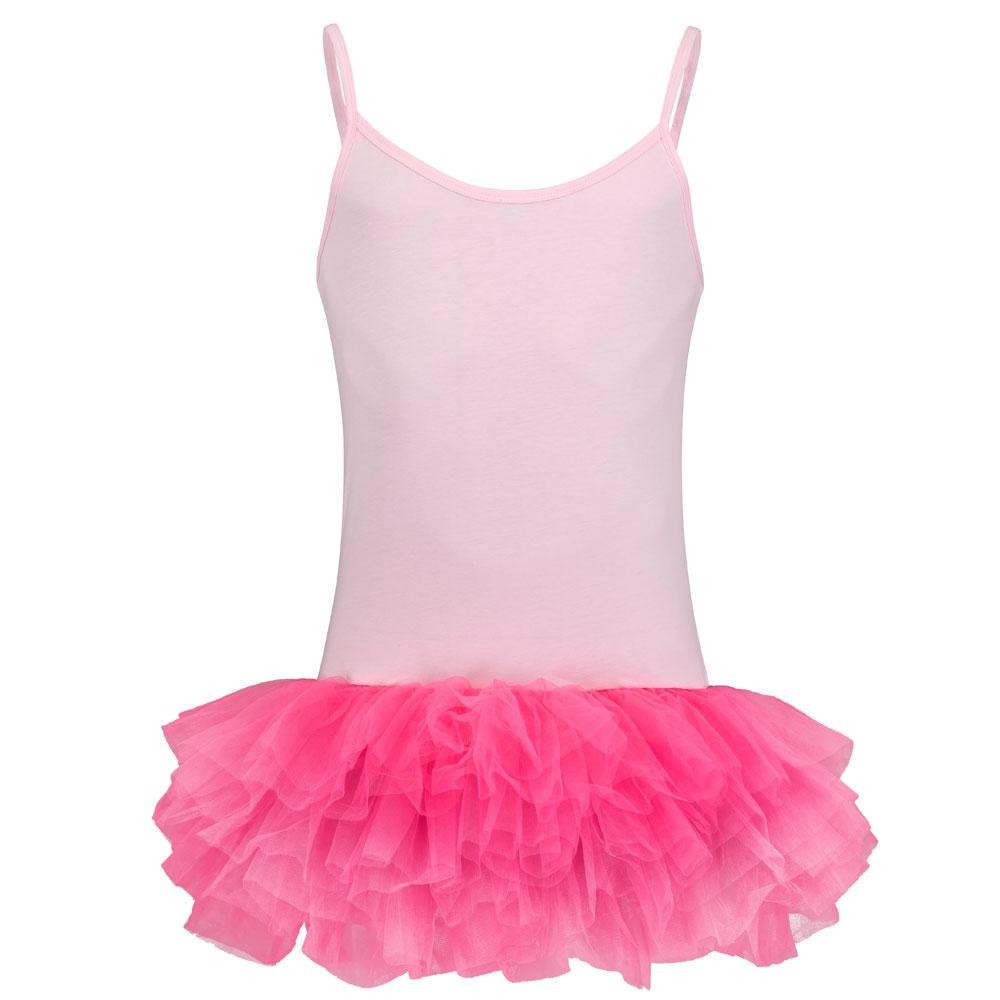 Rosa Fun-Ballettkleid für Männer mit Tütü und Top