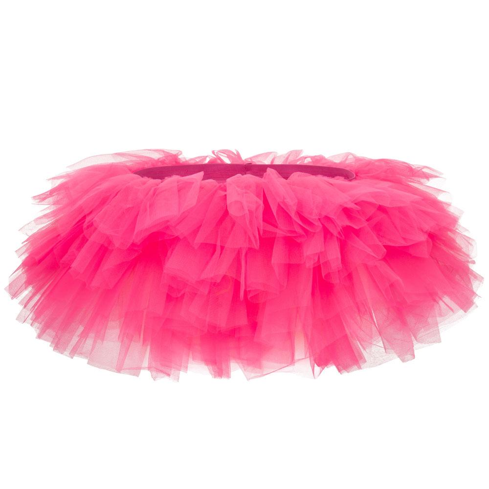 Pinkfarbenes Mini-Tütü für für Fasching und Männerballett