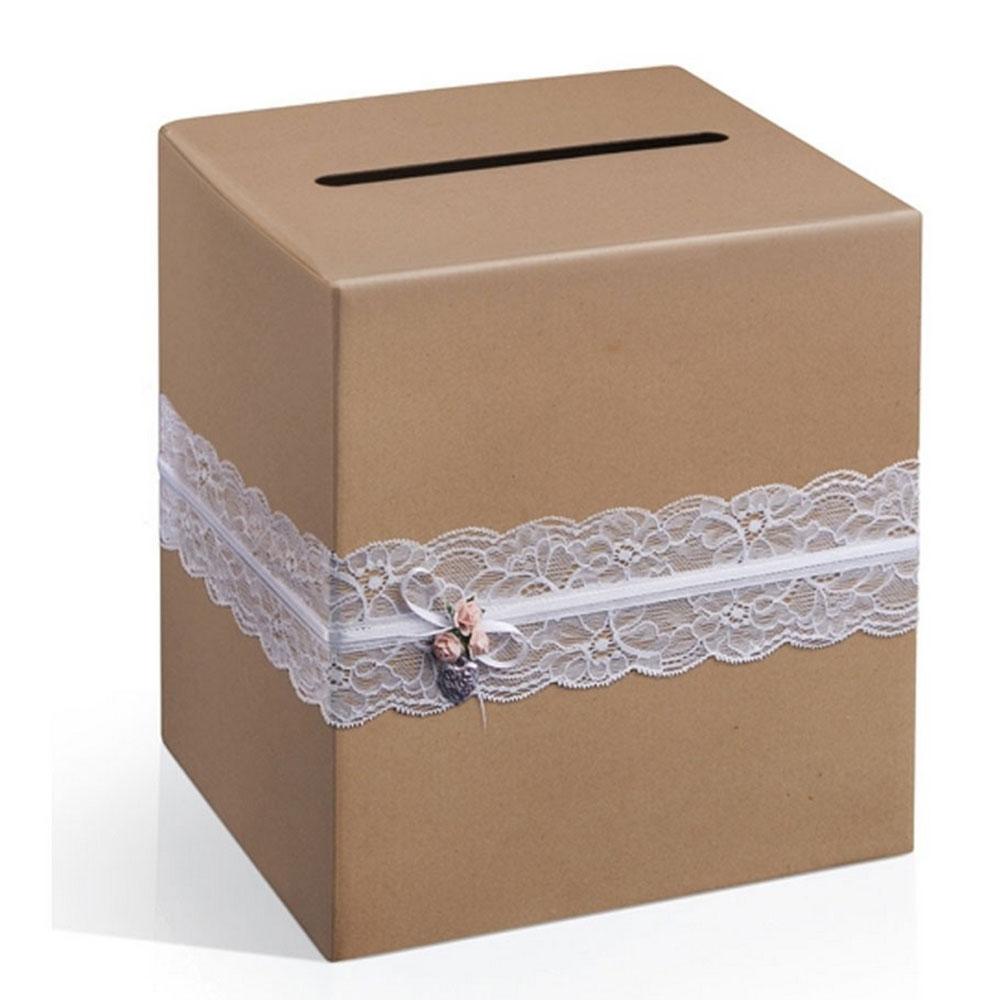 Box für Hochzeitskarten im Vintage-Stil