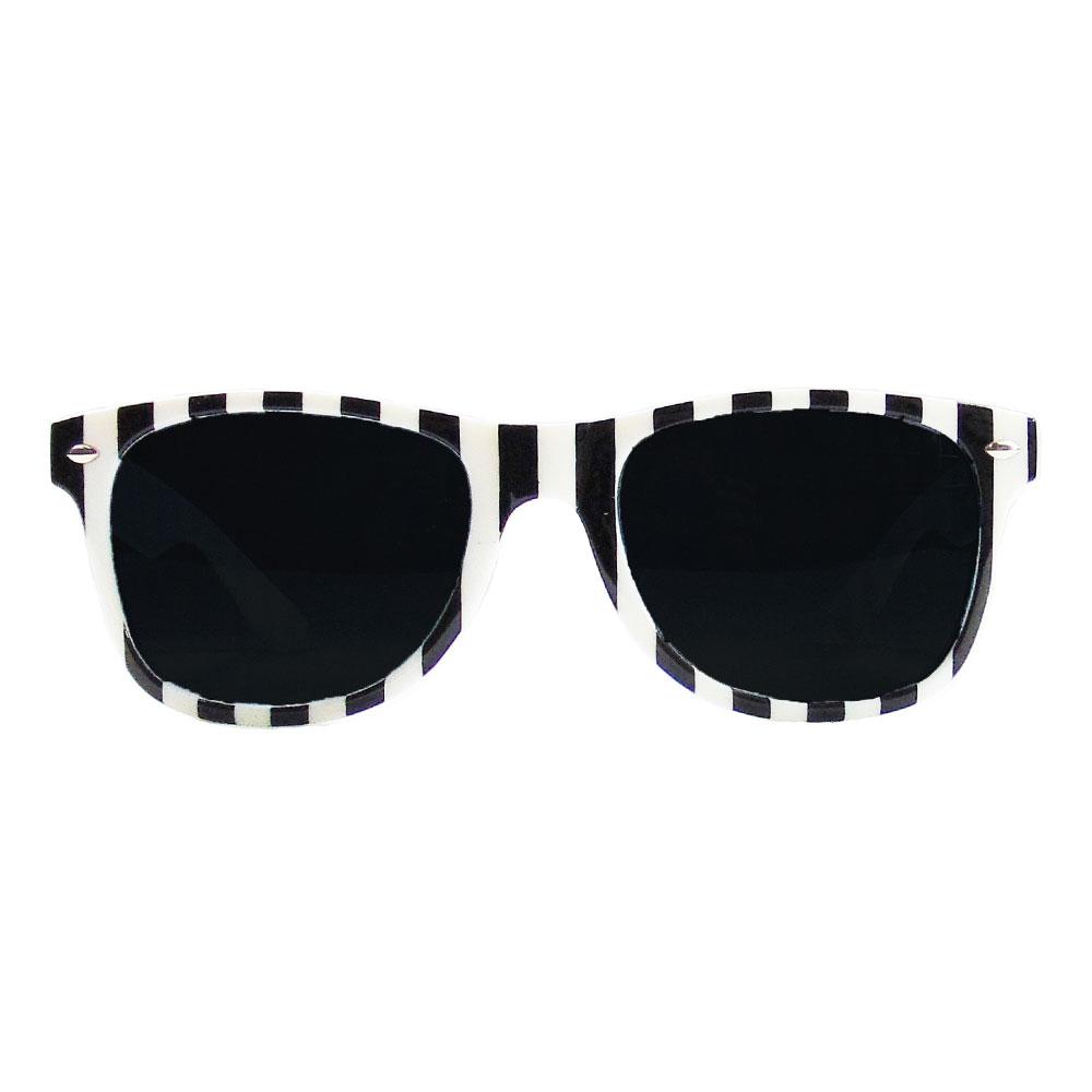JGA Fun-Brille im Sträfling-Design