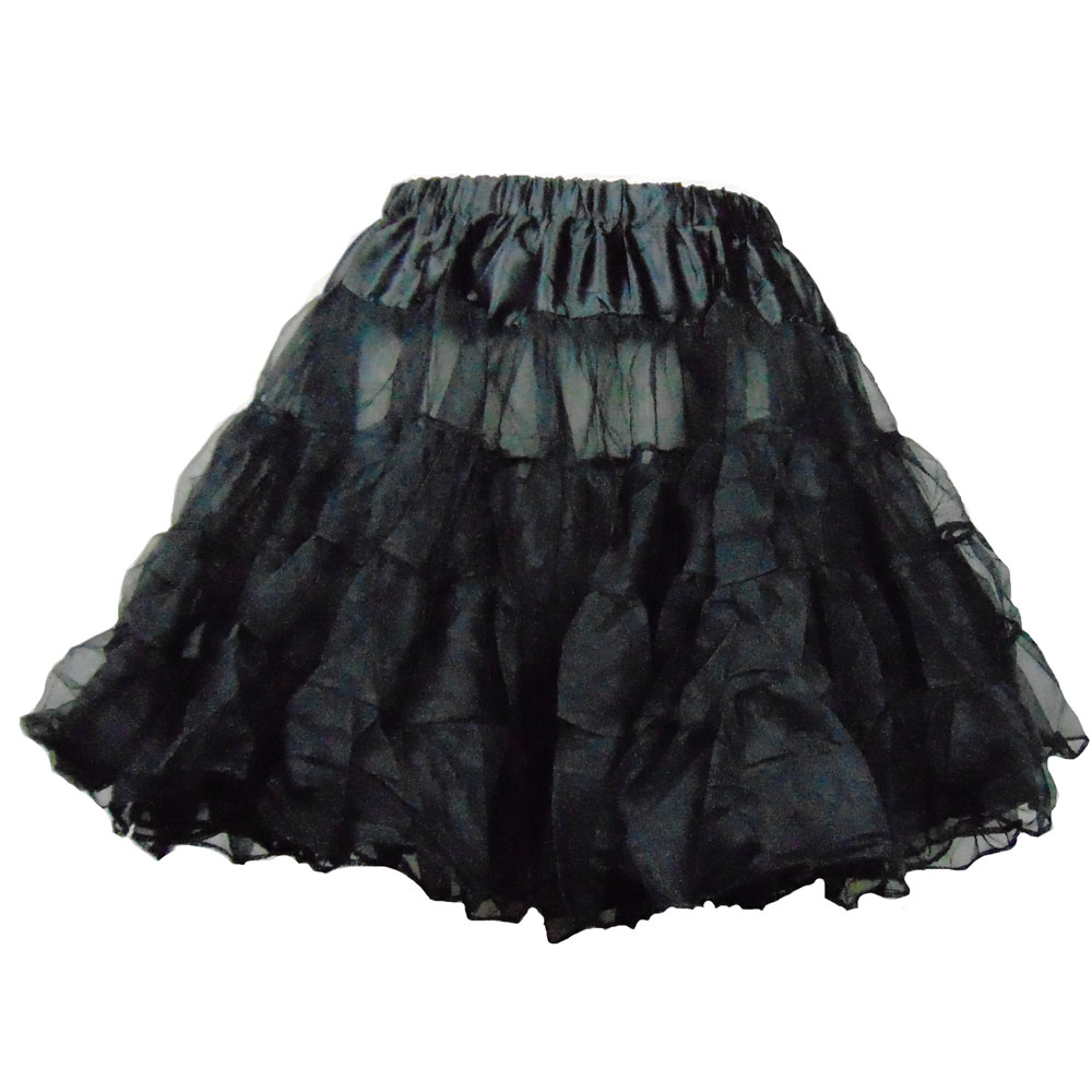 Schwarzer Petticoat