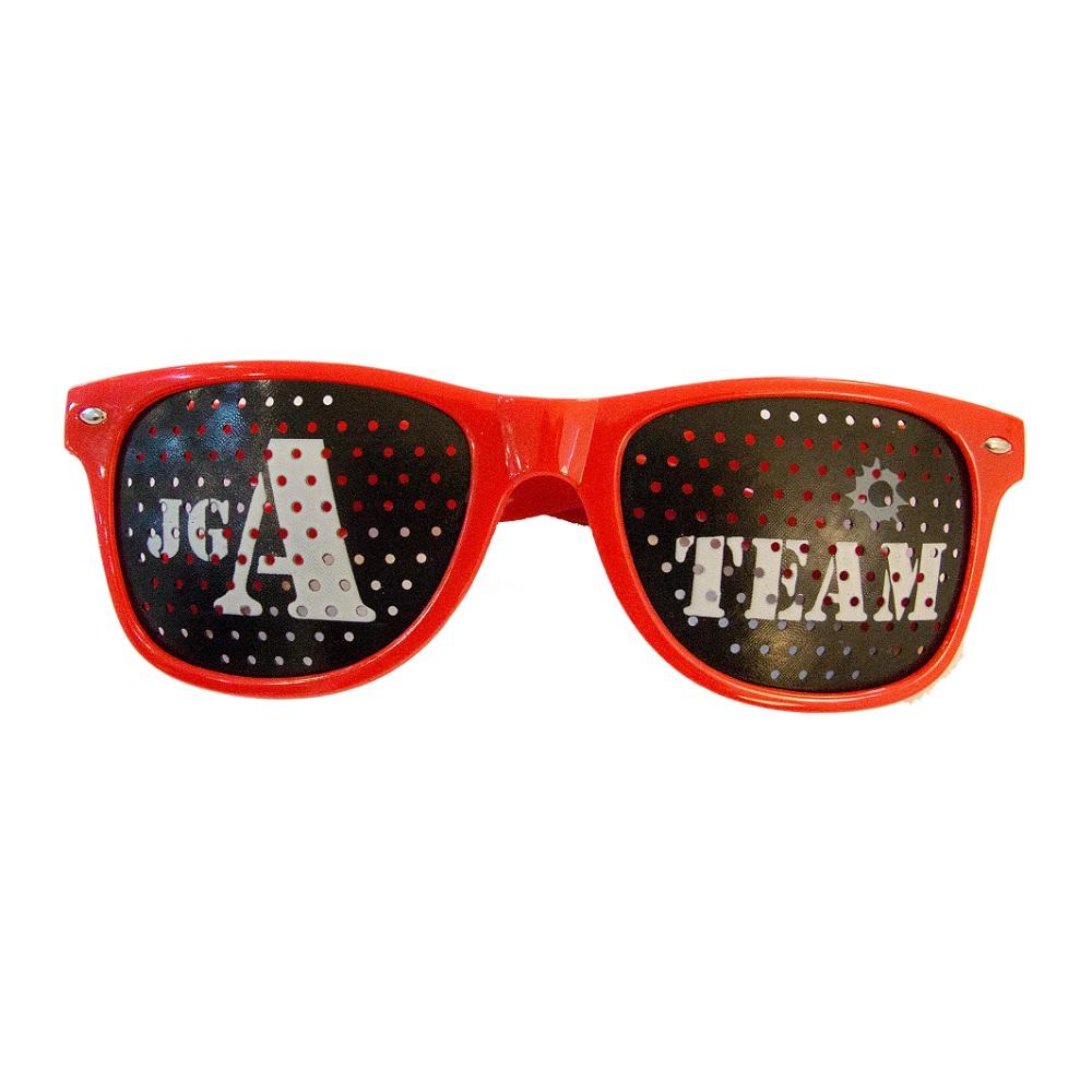 Party-Rasterbrille JGA-Team