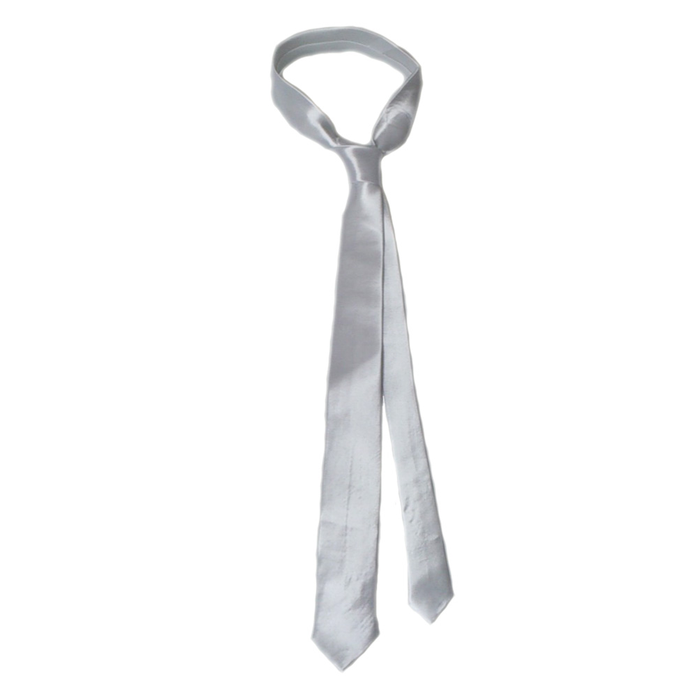 new product 33414 8ed76 Schmale Krawatte in Weiß