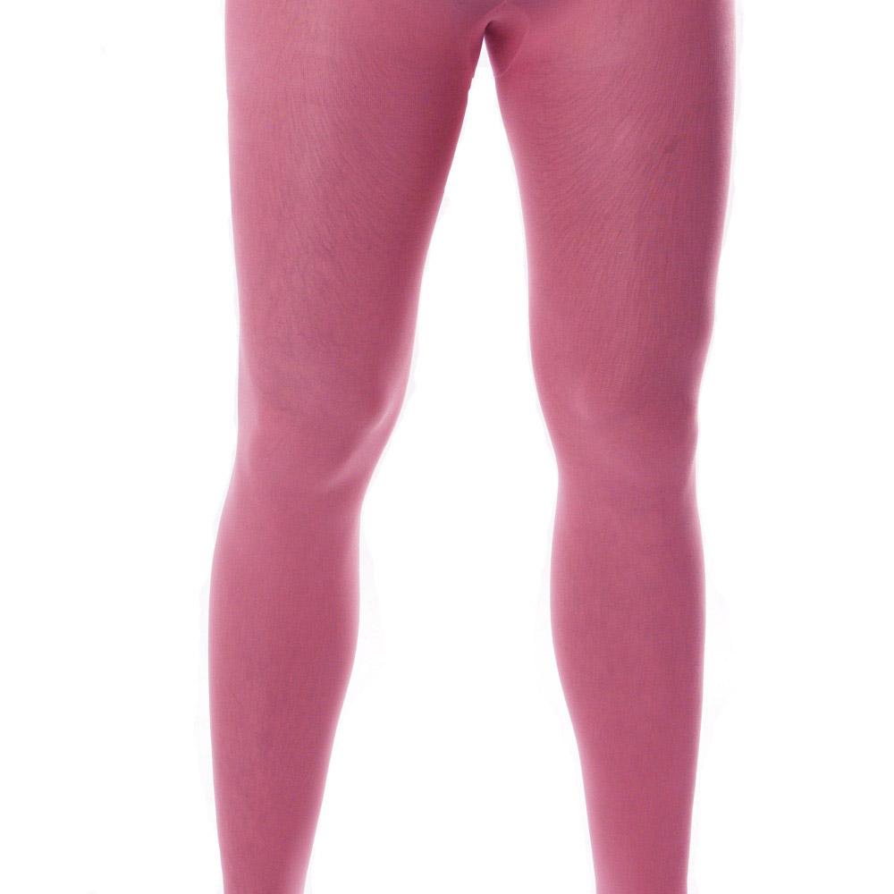 Pinkfarbene XL-Strumpfhose für Männer