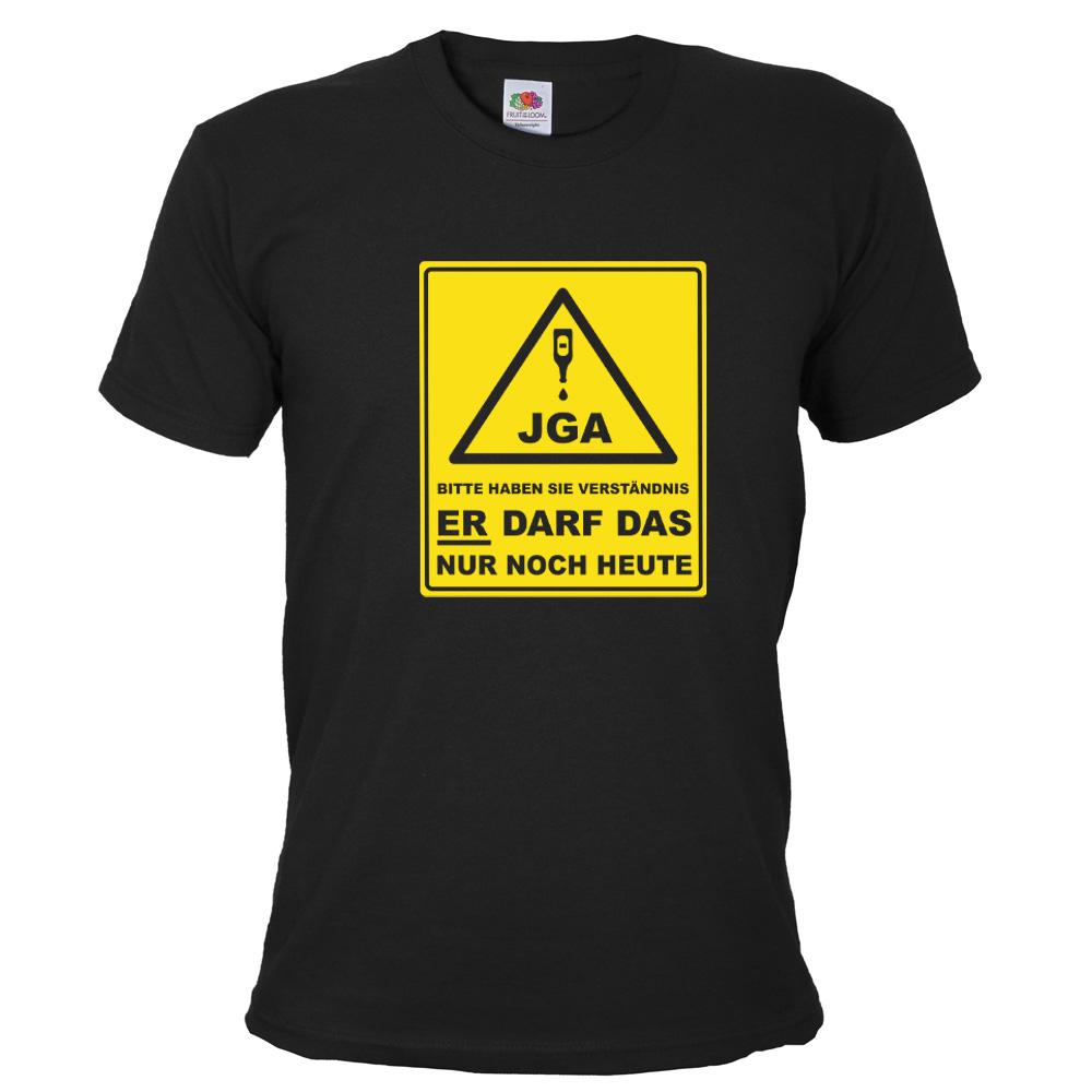 JGA-Shirt Bitte haben Sie Verständnis - Gruppe