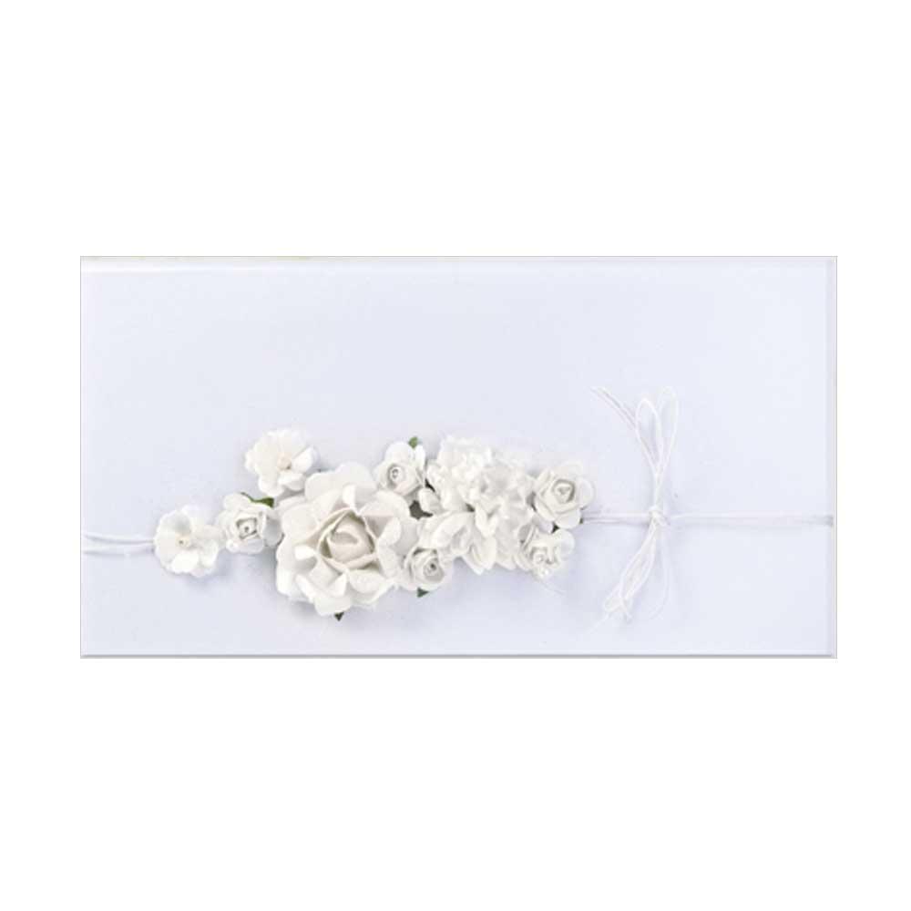 Geldgeschenk Umschlag Mit Blumen Dekor Hochzeit