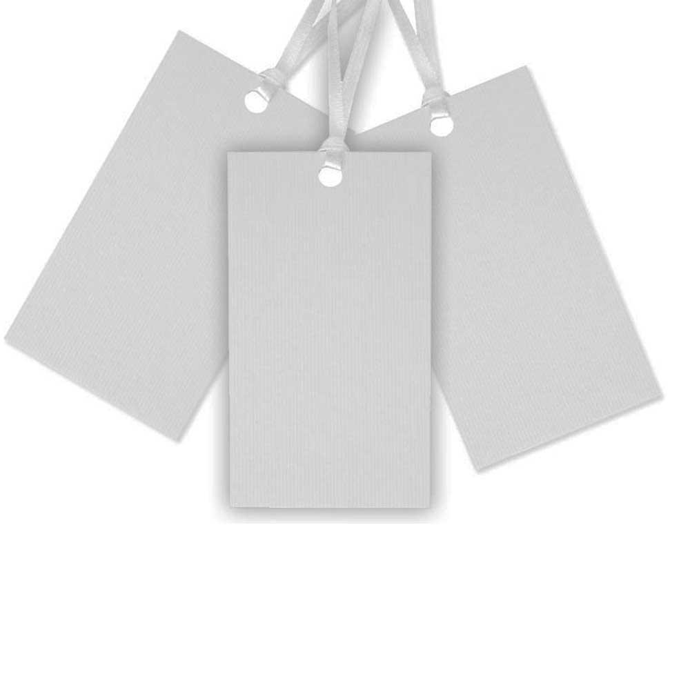 Weiße Papieranhänger für Hochzeits-Glückwünsche