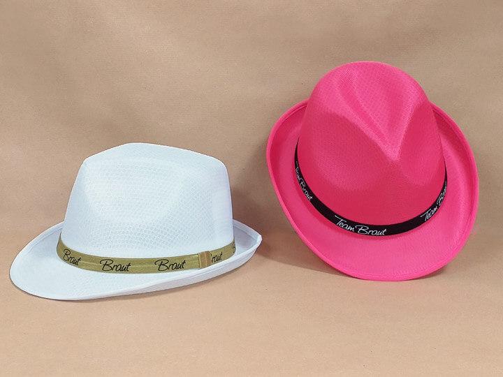 JGA Damen-Hüte im Gangster-Stil für Braut und Team